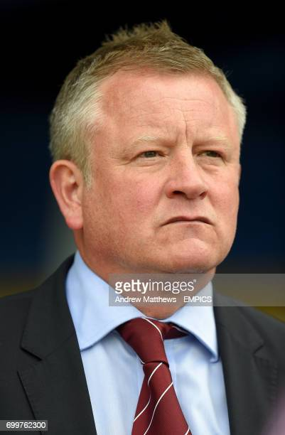 Northampton Town manager Chris Wilder before kick off