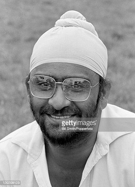 Northamptonshire cricketer Bishen Singh Bedi circa 1975
