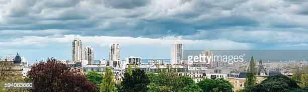 Northeastern Paris Panorama