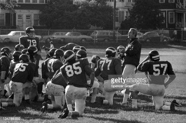 Northeastern University football team and coach Boston Massachusetts 1972