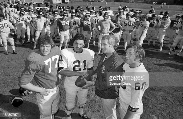 Northeastern University football team and coach Boston Massachusetts 1971