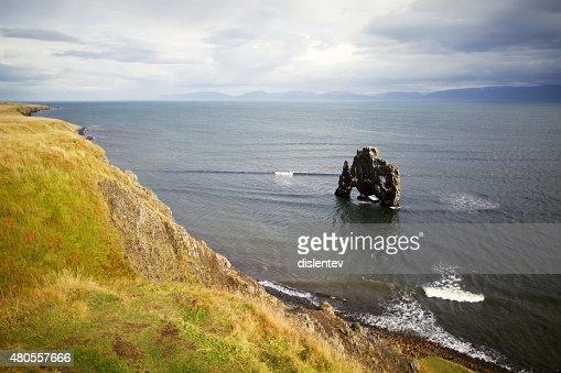 Northern coast of Iceland : Stock Photo