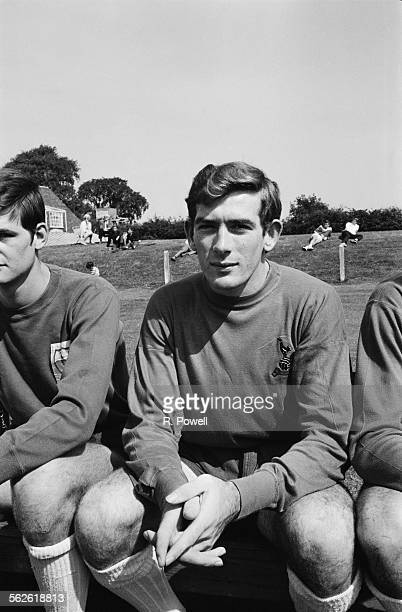 Northern Ireland and Tottenham Hotspur FC goalkeeper Pat Jennings 8th August 1967