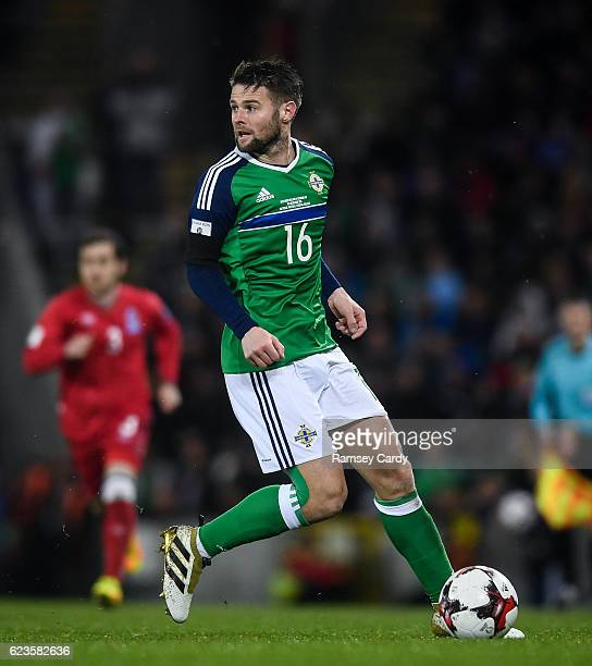 Northern Ireland Ireland 11 November 2016 Oliver Norwood of Northern Ireland during the FIFA World Cup Group C Qualifier match between Northern...
