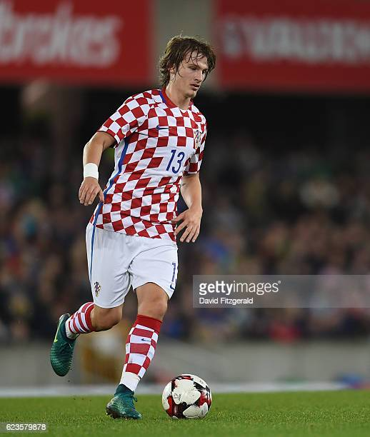 Northern Ireland Ireland 15 November 2016 Tin Jedvaj of Croatia during the International Friendly match between Northern Ireland and Croatia at the...