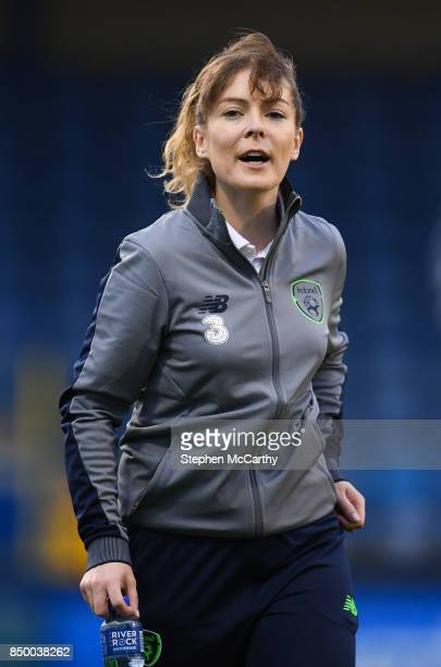 Northern Ireland United Kingdom 19 September 2017 Republic of Ireland physiotherapist LisaAnn O'Neill during the 2019 FIFA Women's World Cup...