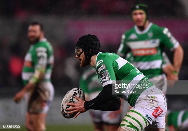 Northern Ireland United Kingdom 3 March 2017 Ian McKinley of Benetton Treviso during the Guinness PRO12 Round 17 match between Ulster and Benetton...