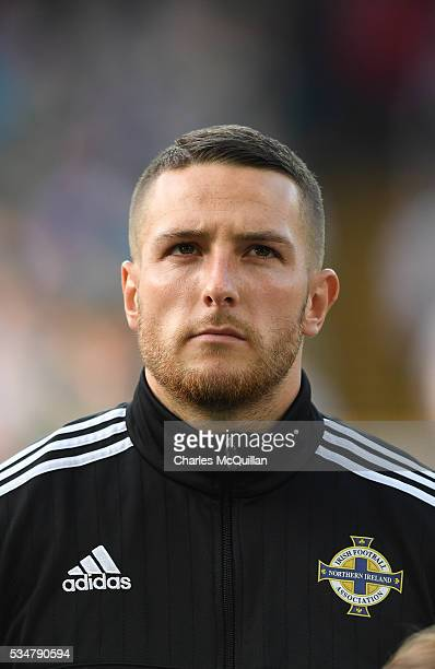 Northern Ireland's Conor Washington before the international friendly game between Northern Ireland and Belarus on May 27 2016 in Belfast Northern...