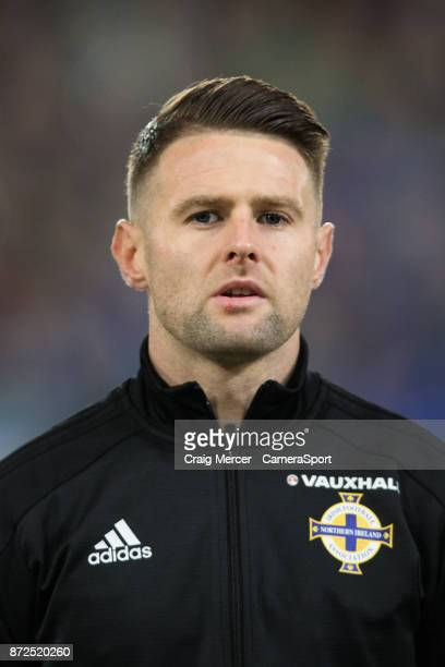 Northern Ireland's Oliver Norwood before the FIFA 2018 World Cup Qualifier PlayOff First Leg between Northern Ireland and Switzerland at Windsor Park...