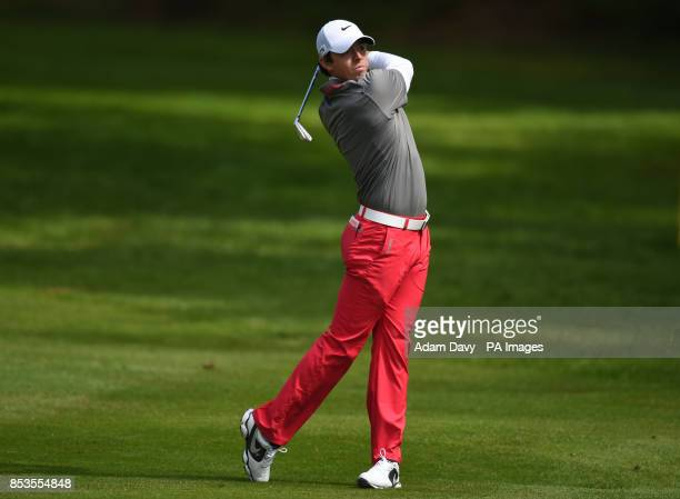 Northern Ireland's Rory McIlroy during day four of the BMW PGA Championships at the Wentworth Club Surrey