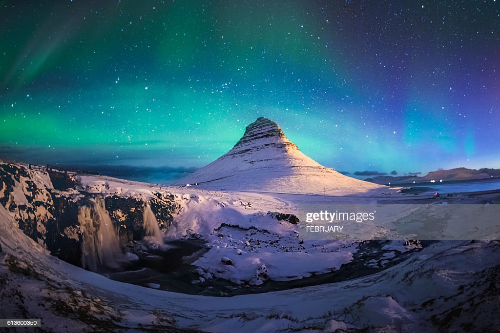 The most photographed mountain in Iceland, Mount Kirkjufell doesn't only inspire Instagrammers, but hikers as well. Situated on the north coast of Iceland's Snaefellsnes peninsula, it's summit is 1,500 feet above sea level, offering stunning views of the surrounding area.