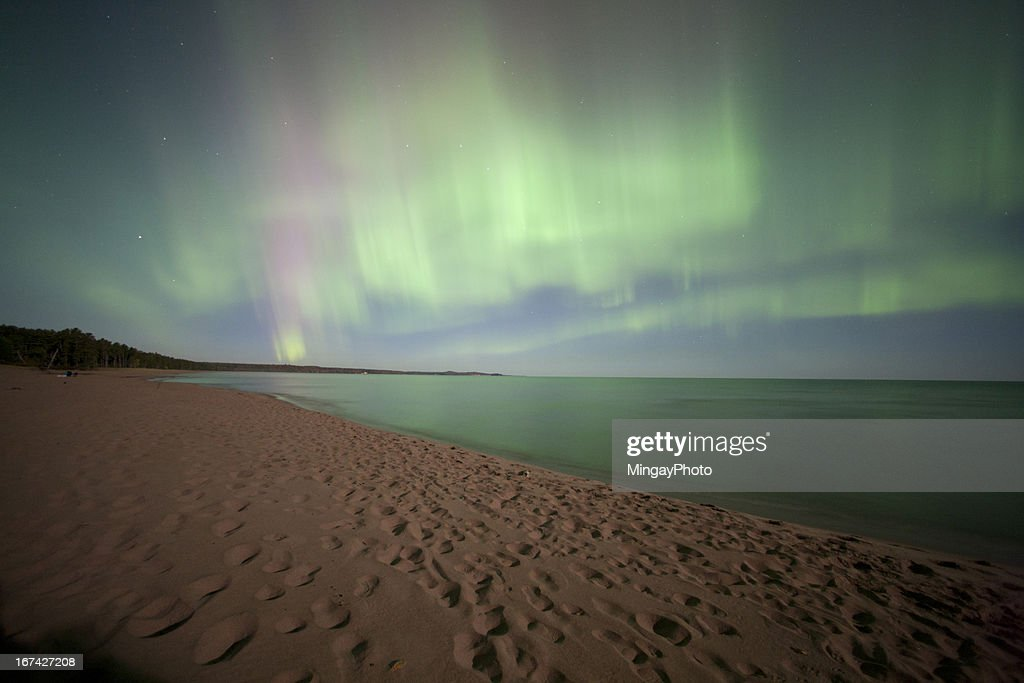Northern Lights, Aurora Borealis : Stock-Foto