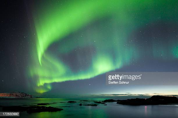 Northern Lights Lofoten Norway