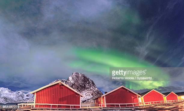 Northern Lights on Hamnoy