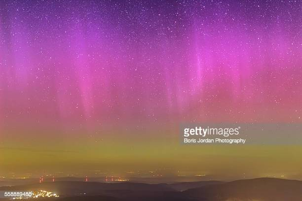 Northern lights over Germany