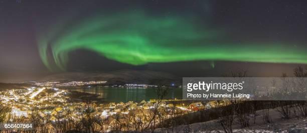 Northern Lights over Hamna, Tromsø