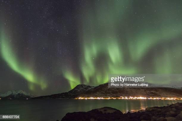 Northern Lights over Skulsfjord
