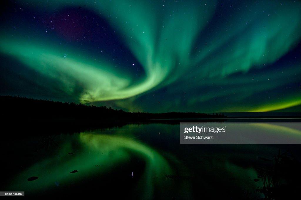 Northern lights (aurora boreal)