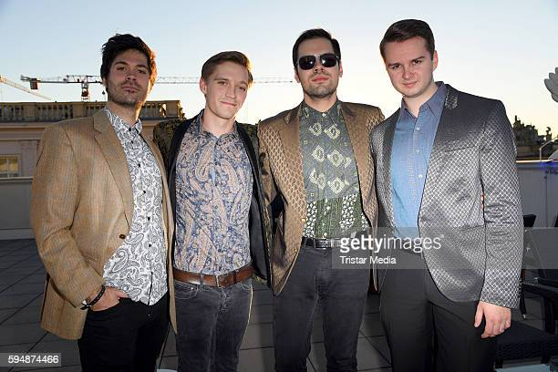 Northern Lights with Jonas Nay attend the reception for UFA Film Nights on August 24 2016 in Berlin Germany