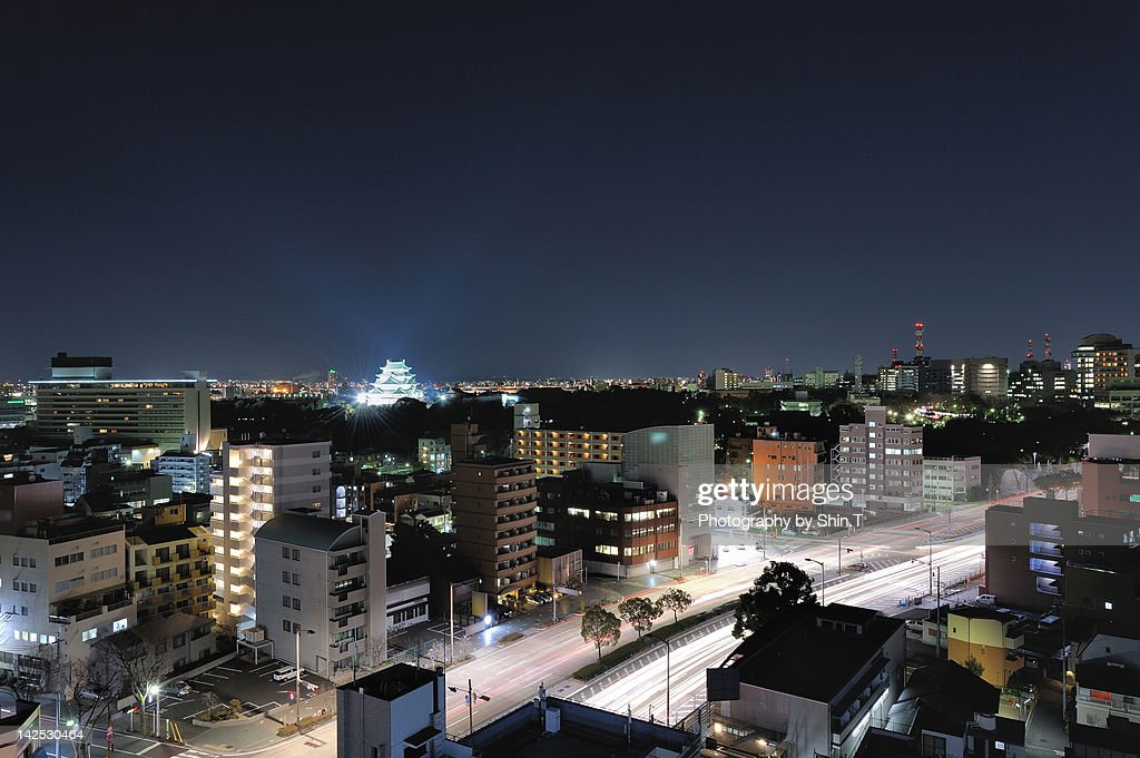 Northern Nagoya with Nagoya castle
