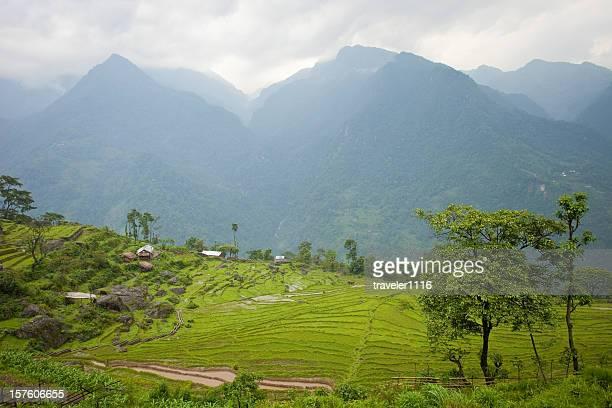 Northern Sikkim, India Landscape