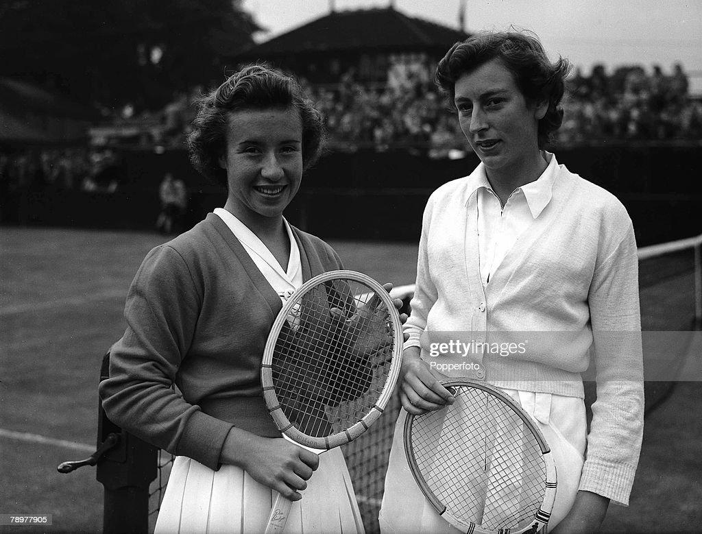 1952 Northern Tennis Championships Manchester England Maureen
