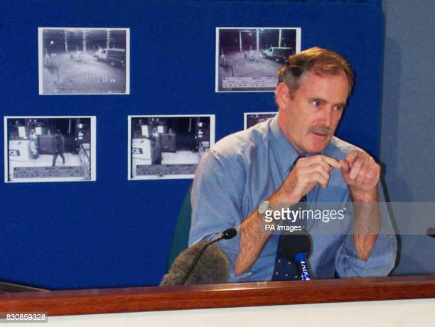 Northern Territory Assistant Commissioner John Daulby at a news conference called by police in Alice Springs Australia searching for missing Briton...