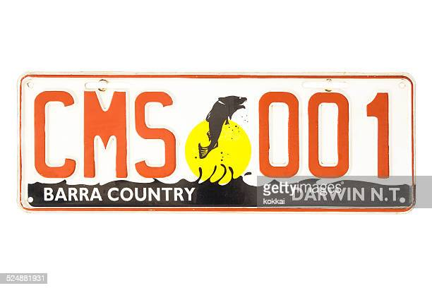 Northern Territory Barra Country Number Plate