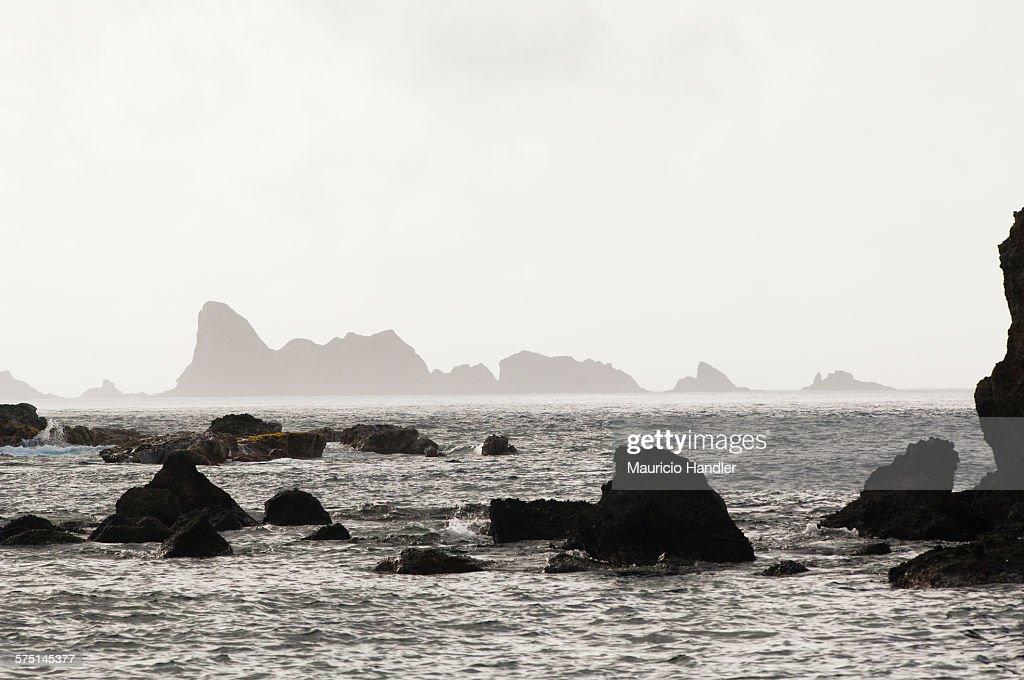Northernmost rocks, north of Chichi JIma Island.