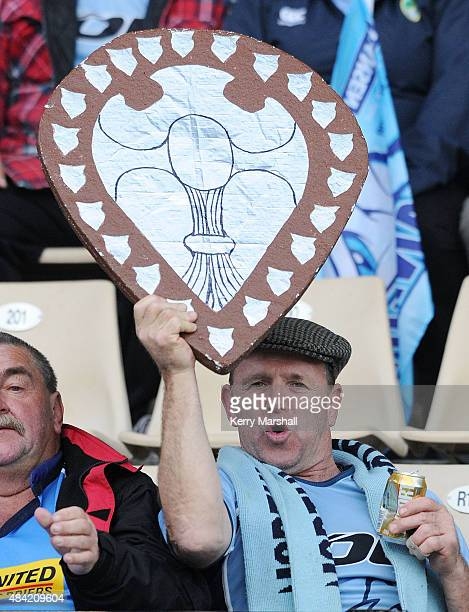 Northland fans before the round one ITM Cup match between Hawke's Bay and Northland on August 16 2015 in Napier New Zealand