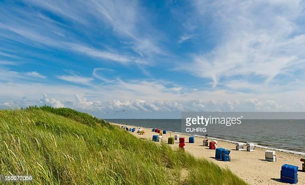 Northsea Beach on Island Foehr