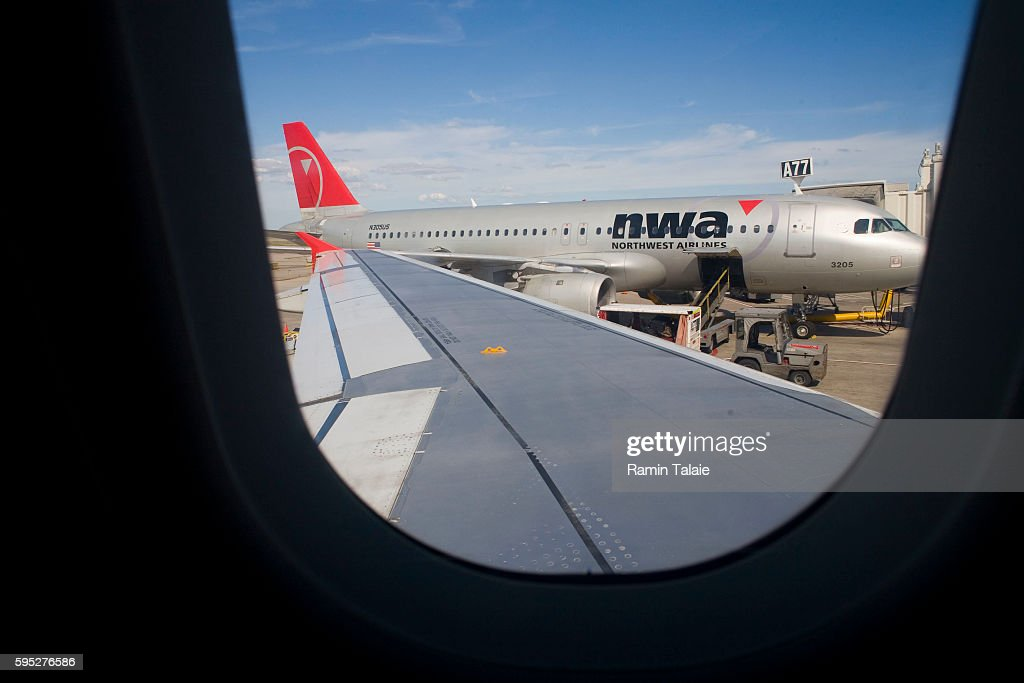 USA Transportation Northwest Airlines Pictures Getty Images - Michigan location in usa