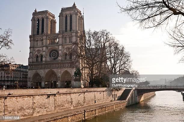 Nortre Dame and The River Seine