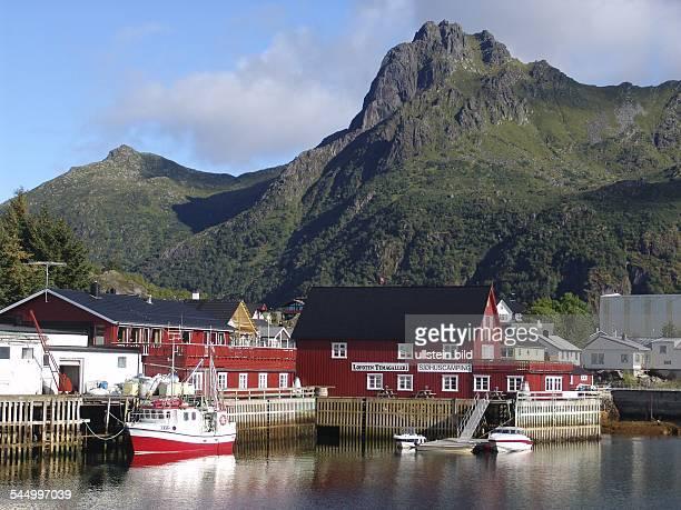 harbour of Svolvaer