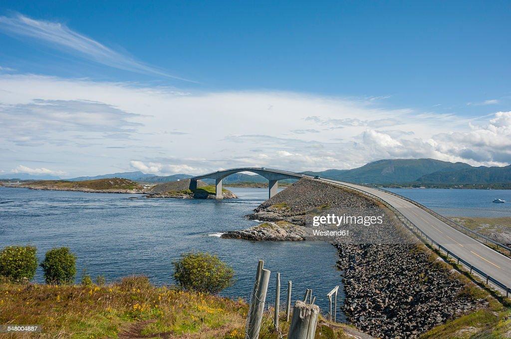 Norway, More og Romsdal, Atlantic Ocean Road