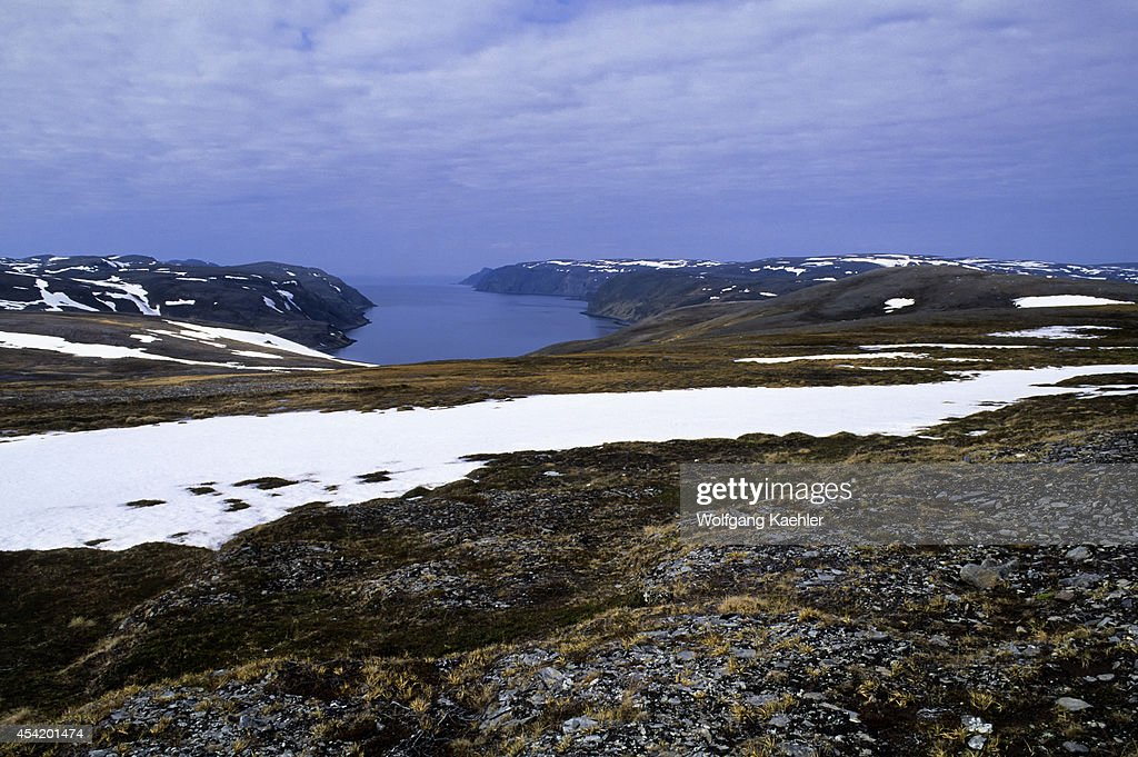 Norway, Near Honningsvag, Landscape Near North Cape.