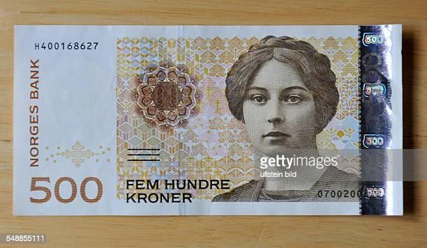 Norway Norwegian Krona 500 Krona banknote