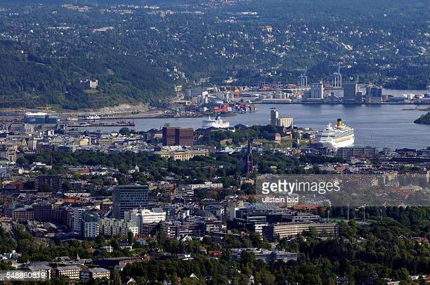 Norway Oslo Oslo View at the city