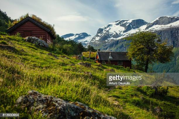 Norway, Skala mountain in July