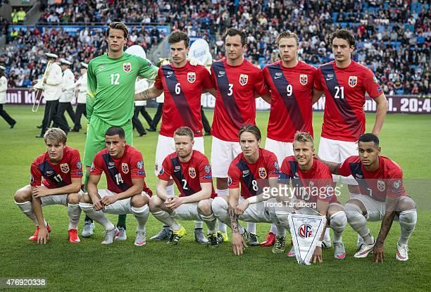 Norway Team Orjan Nyland Haavard Nordtveit Even Holland Alexander Soderlund Vegard Forren Martin Odegaard Omar Elabdellaoui Tom Hogli Alexander...