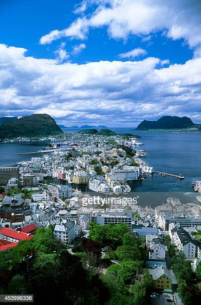 Norway View Of Alesund