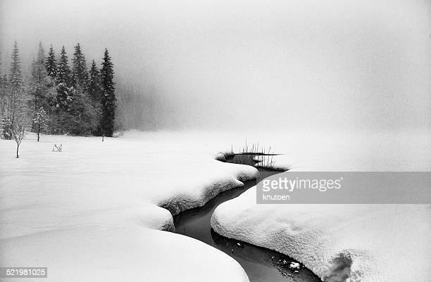 Norway, Winter landscape
