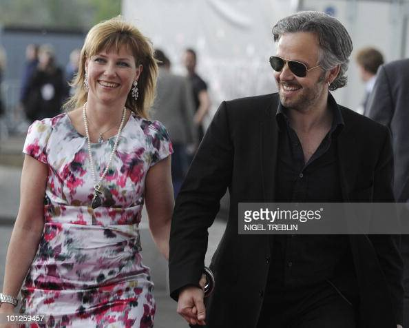 Norways princess Maertha Louise and her husband Ari Behn arrive for the Eurovision Song Contests at the Telenor Arena in Baerum near Oslo Norway on...