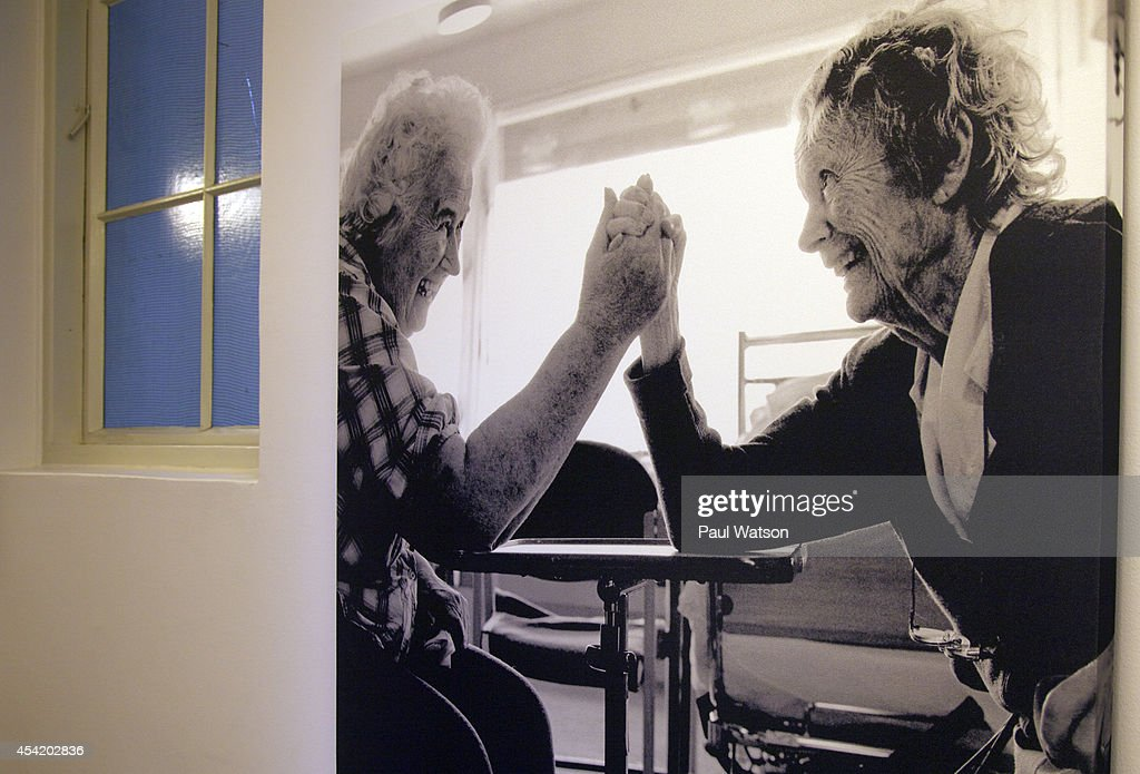 OSLO, Norway--Visitors to Alma's House are greeted by inspiring, life-sized photos as they confront the challenges of dementia. August 25, 2014.