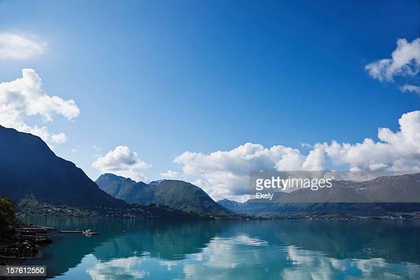 fjord norvégien.