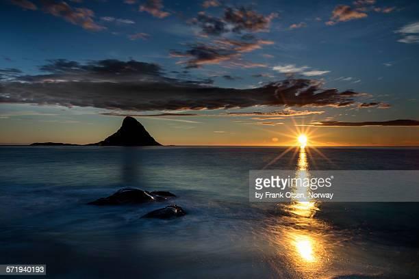 Norwegian midnight sun