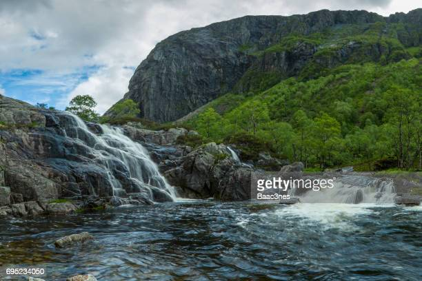 Norwegian nature, Hunnedalen in Rogaland county, Norway