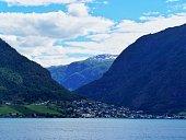 Norwegian village panorama