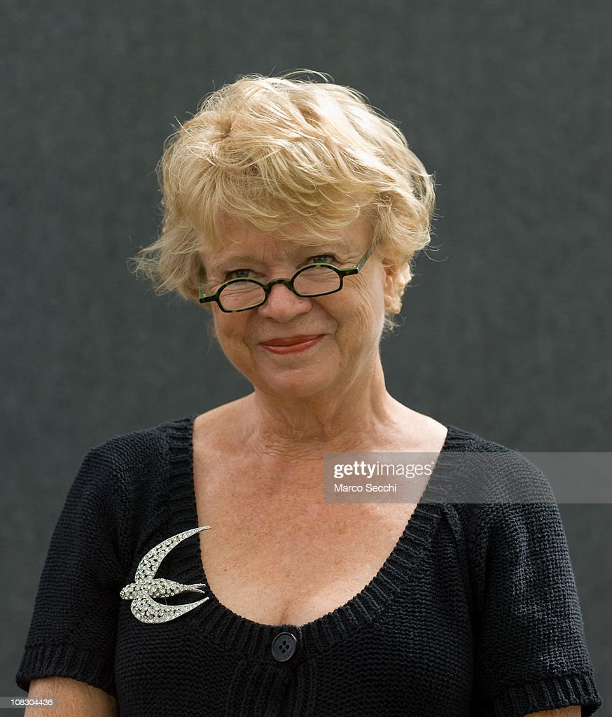 Norwegian-born French writer <a gi-track='captionPersonalityLinkClicked' href=/galleries/search?phrase=Eva+Joly&family=editorial&specificpeople=2884273 ng-click='$event.stopPropagation()'>Eva Joly</a> poses during a portrait session held at Edinburgh Book Festival on August 14, 2007 in Edinburgh, Scotland.