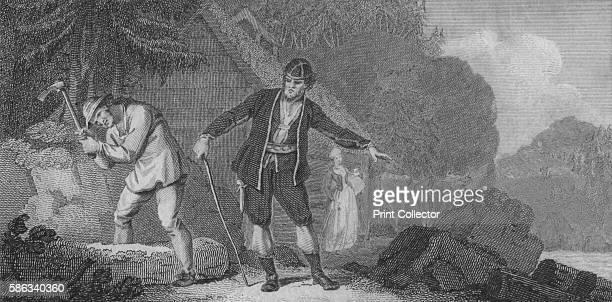 'Norwegians' 1788 After Edward Francis Burney [Dr J Truster London 1788] Artist J Thornthwaite